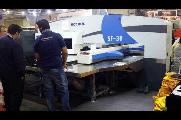 Alta qualidade servo cnc máquina de prensa de perfuração de torre hidráulica